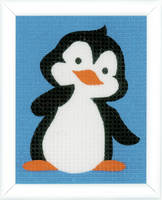 Penguin Tapestry Kit By Vervaco