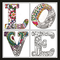 Zenbroidery - Love Conton Fabric by Design Works