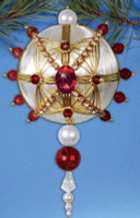 Red & Gold Heirloom Ornament Craft Kits by Design Works