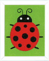 Ladybug  Long Stitch Kit By Vervaco