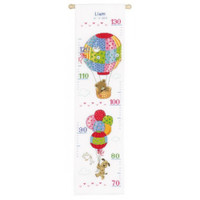 Traveling Height Chart Cross Stitch Kit By Vervaco