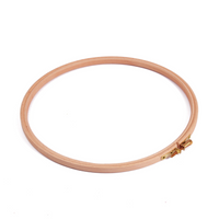 Elbesee Wooden Embroidery Hoop: 9in
