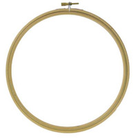 """Wooden Embroidery Bamboo Hoop Size 12"""""""
