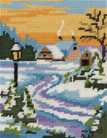 Starter: Snowy Scape Tapestry Kit By Anchor