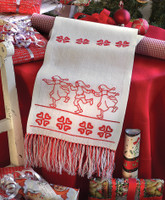 Freestyle: Dancing Santa: Runner Embroidery Kit By Anchor