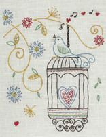 Freestyle: Starter: Birdcage Kit Embroidery Kit By Anchor