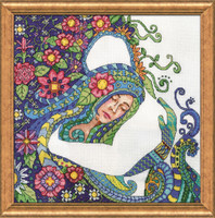 The Embrace  Cross Stitch Kit By Design Works
