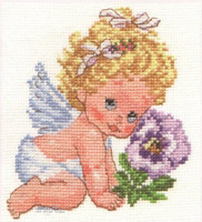 Angel of Happiness Cross Stitch Kit by Alisa