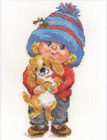 Sashenka Cross Stitch Kit by Alisa