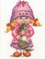 Dashenka Cross Stitch Kit by Alisa