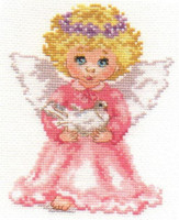 Little Angel Cross Stitch Kit by Alisa