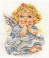 Angel of Dream Cross Stitch Kit by Alisa