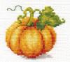 Pumpkin Cross Stitch Kit by Alisa