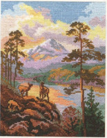 On the sunset Cross Stitch Kit by Alisa