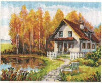 Visit to the Autumn Cross Stitch Kit by Alisa