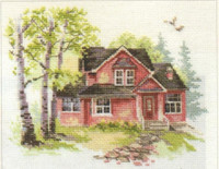 May house Cross Stitch Kit by Alisa