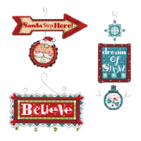 Counted Cross Stitch: Ornaments: Whimsical Signs by Dimensions