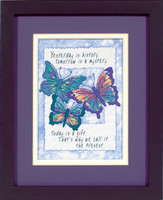 Today Is A Gift Stamped Cross Stitch Kit