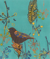 Song Bird Printed Embroidery Kit By DMC