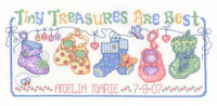 Tiny Treasures Chart By Ursula Michael