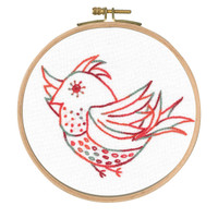 Free Spirit Printed Emboidery Kit By DMC