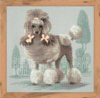 Poodle Cross Stitch Kit By Riolis