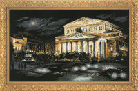 Bolshoi Theatre Cross Stitch Kit By Riolis