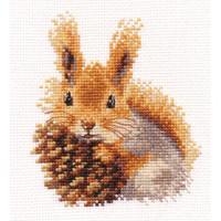 Squirrel Cross Stitch Kit By Alisa