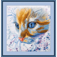 Ginger Cross Stitch Kit by oven