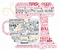 Lets Bake Cross Stitch Chart by Ursula Michael