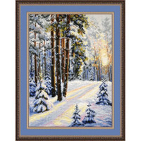 Winter cross Stitch Kit By Oven