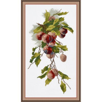 Plums cross stitch Kit by Oven