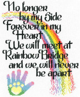 Lets Cross the Rainbow Cross stitch Chart