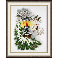 Magical Lamp Cross Stitch Kit by Oven