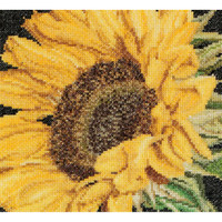 Sunflower Cross Stitch Kit by Thea Gouverneur