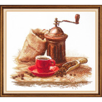 Loving Aroma Cross Stitch Kit by Oven