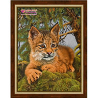 Small Lynx Diamond Painting Kit