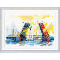 Palace Bridge Cross Stitch Kit by Oven