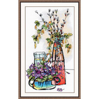 Glass Fantasy ll Cross Stitch Kit By Oven