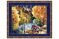 Autumn Cross Stitch Kit by Golden Fleece