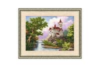 Castle Cross Stitch Kit by Golden Fleece