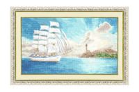 Fregate Cross Stitch Kit by Golden Fleece