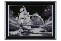 Moon Way Cross Stitch Kit by Golden Fleece
