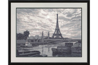Paris Cross Stitch Kit by Golden Fleece