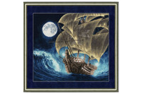 To the Distant Shores Cross Stitch Kit by Golden Fleece