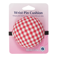 Red Checked Pincushion: for the Wrist from Hemline