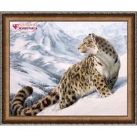Snow Leopard Diamond Painting Kit