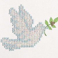 Dove of Peace Craft Kit By Diamond Dotz