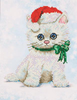 Chrissy Kitty Craft Kit By Diamond Dotz