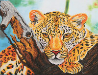 Leopard Look Craft Kit By Diamond Dotz